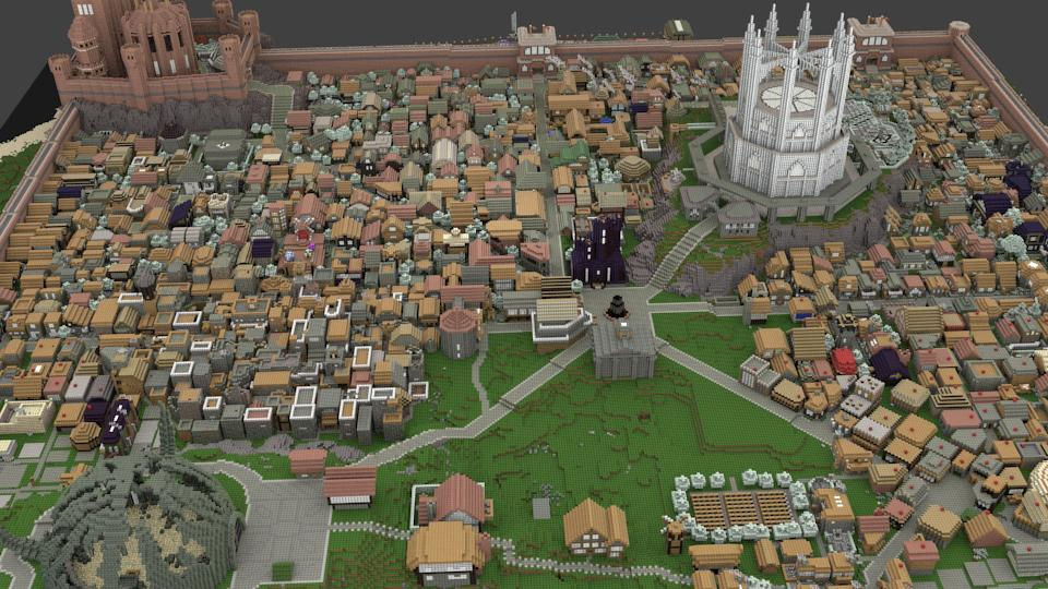 These guys are building all of game of thrones in minecraft kotaku a crew of dedicated game of thrones fans has set out to re create their own minecraft version of the series detailed fantasy world gumiabroncs Choice Image