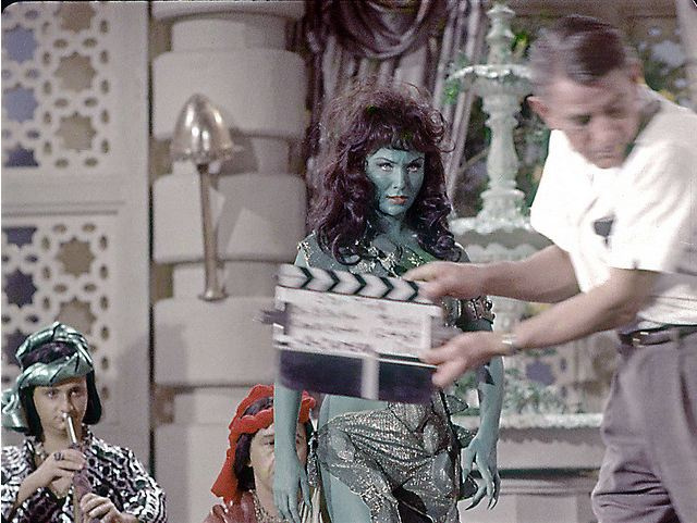 Rare Star Trek photos show green Orion slavegirls like you've never seen them