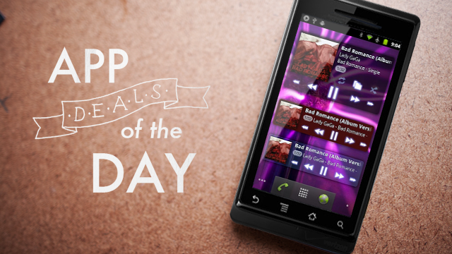 Daily App Deals: Get PowerAmp for Android for $1.99 in Today's App Deals