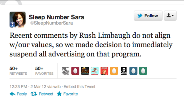 Rush Limbaugh's Loose Lips Cause Him to Lose Advertisers