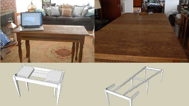 Diy Expandable Dining Table Plans