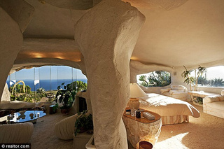 Dick Clark's Flintstones home is the perfect place to stow your cloned baby mammoth