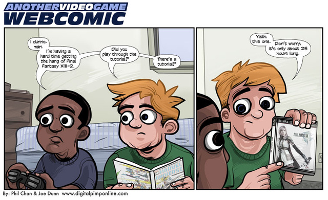 Sunday Comics: First-Person Problem