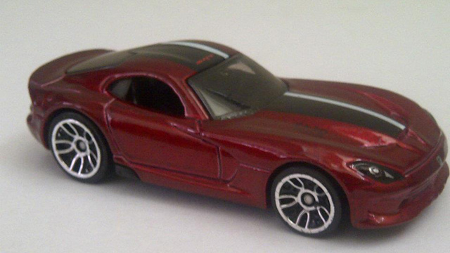 2013 SRT Viper: Here It Is (In Toy Car Form)