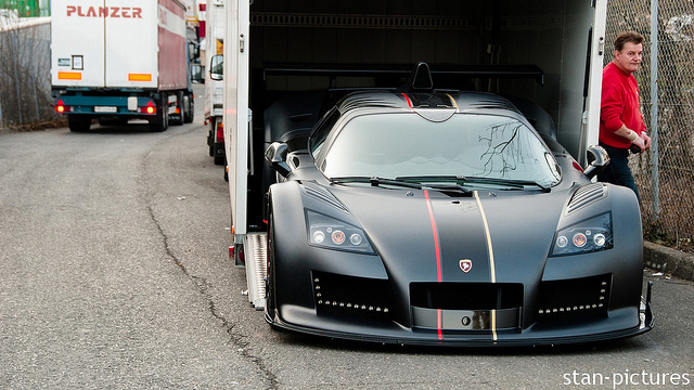 Is This The Gumpert Apollo Enraged Arriving At The Geneva Motor Show?