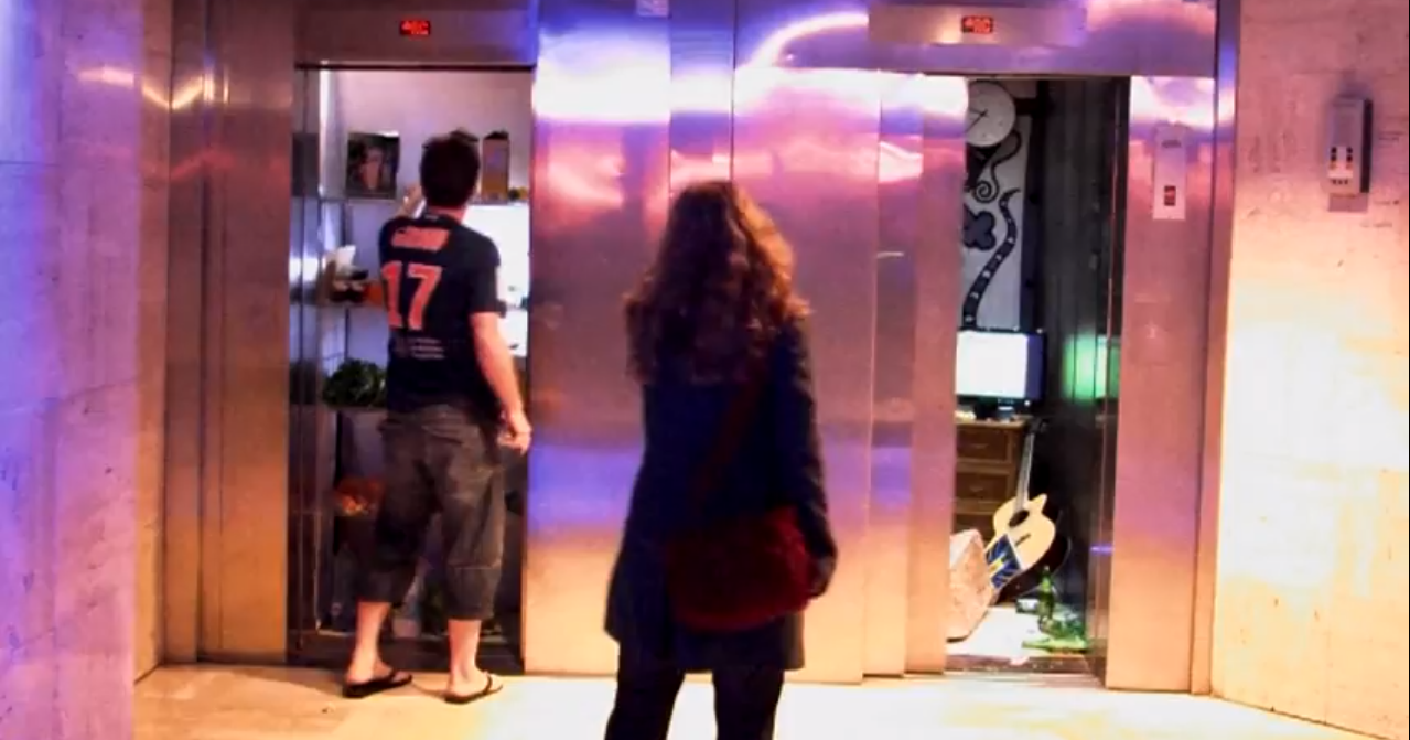 Click here to read What It's Like to Live in an Elevator
