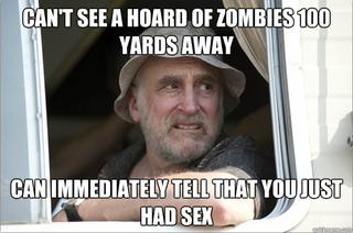 On The Walking Dead, tragedy inadvertently makes for great comedy