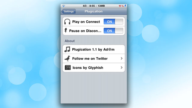 Click here to read Plugication Automatically Restarts Music on the iPhone When You Plug Headphones Back In