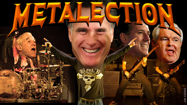 Metal Endorsements Update: Vattnet Viskar for Ru Paul Impregnating Santorum or Ron Paul
