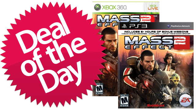 Click here to read Mass Effect 2 For PS3 & Xbox 360 Is Your Reaper-Slaying Deal of the Day