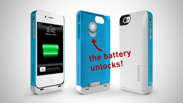 Click here to read The Boost Case Provides Your iPhone with an Extra Battery When You Want It and a Slim Case When You Don't