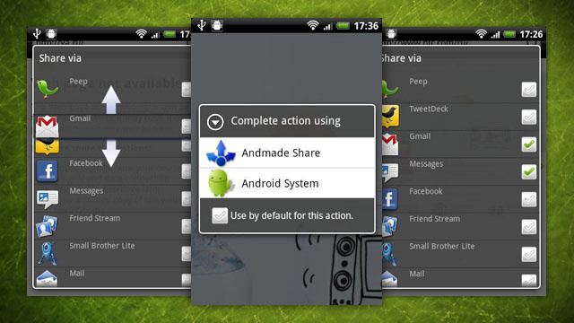Andmade Share Replaces Android's Default Share Menu with a More Powerful One