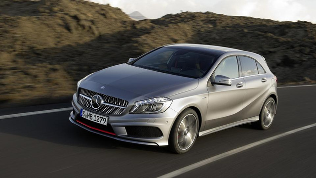 Mercedes A-Class: 'A' is for 'Attack'