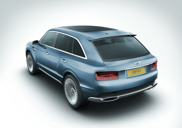 Bentley EXP SUV: First Photos