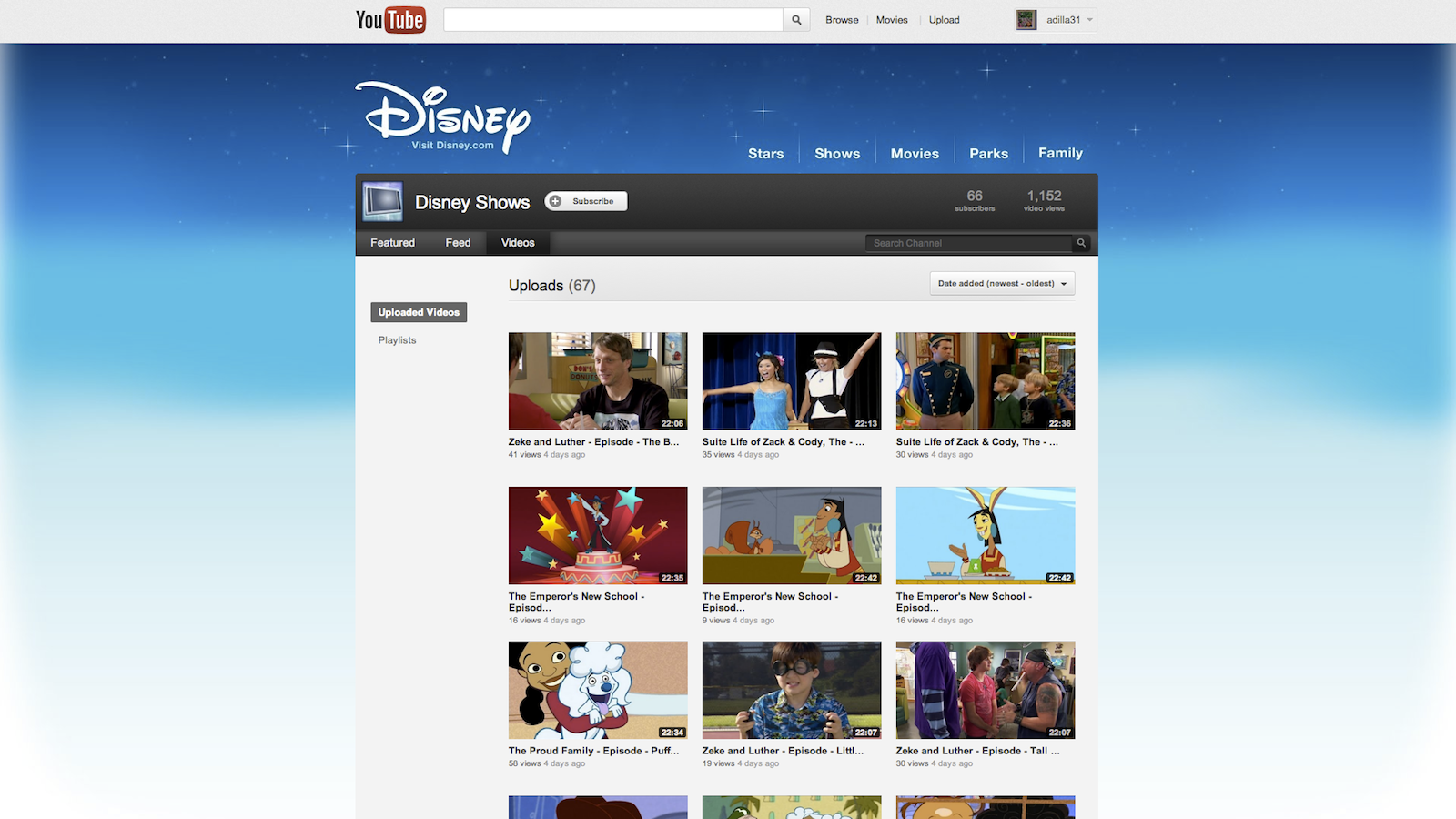 Click here to read Disney Brings 70 TV Episodes to YouTube