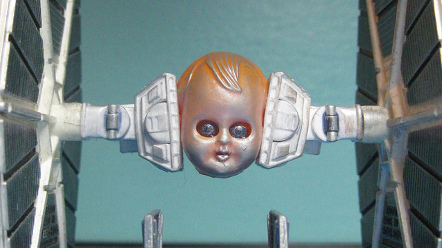 The Horror, the Terror, the Custom Star Wars Figures Made of Baby Doll Parts