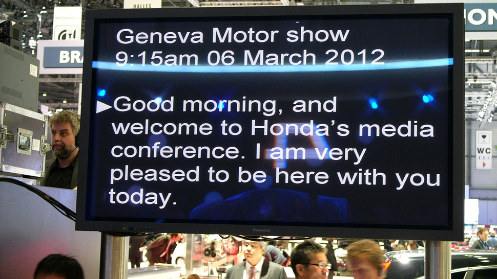 The Honda NSX Says Good Morning from Geneva