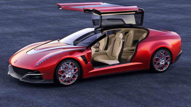 Italdesign Giugiaro Brivido: Photo Gallery