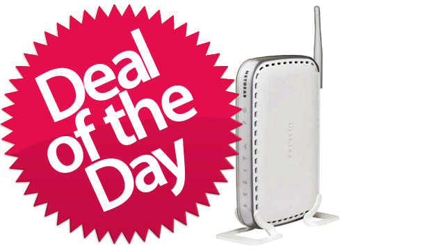 This Netgear Wireless-G Router Is Your Wired-Is-Still-Faster Deal of the Day