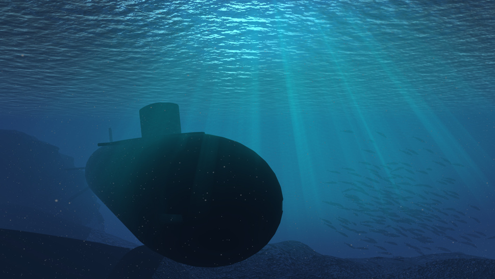Create <em>Hunt for Red October</em>'s fictional submarine propulsion system... in a teacup