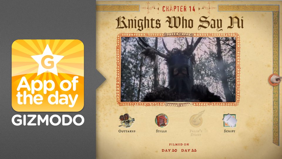 Click here to read The Holy Book of Days: An iPad Companion For <em>Monty Python and the Holy Grail</em>