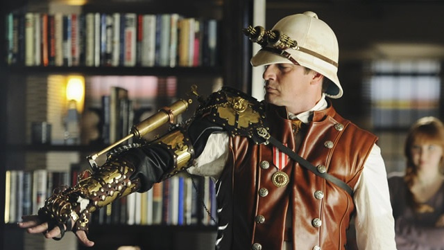 Buy nathan fillion 39 s steampunk cybernetic arm from castle - Steampunk style vestimentaire ...