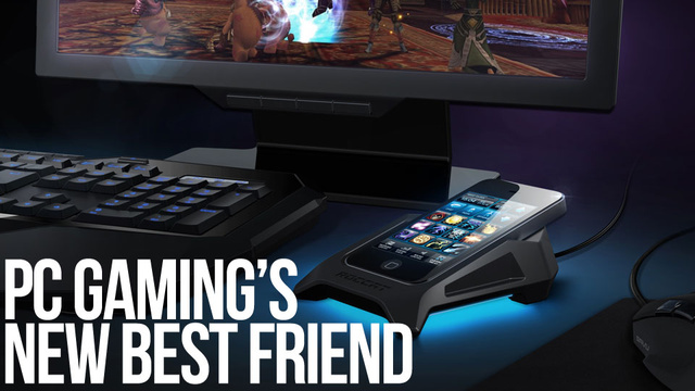 Roccat's Power-Grid Transforms Your Mobile Phone into the Ultimate PC Gaming Peripheral