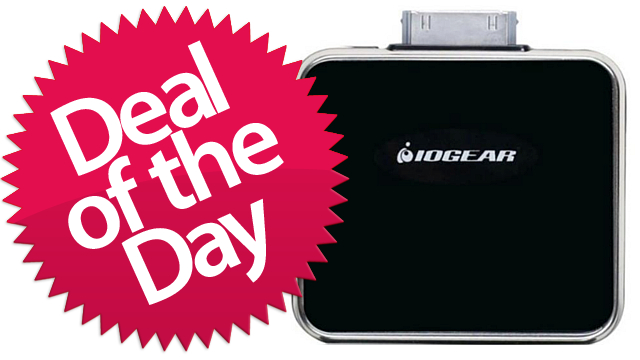 Click here to read IOGEAR iPhone/iPod Portable Battery Pack Is Your Emergency-Juice Deal of the Day