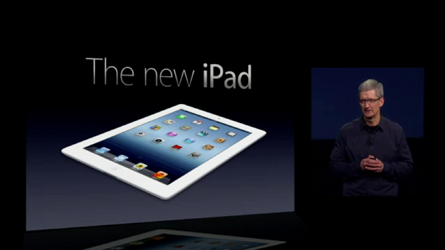 Click here to read Watch the Entire Apple iPad Keynote Now