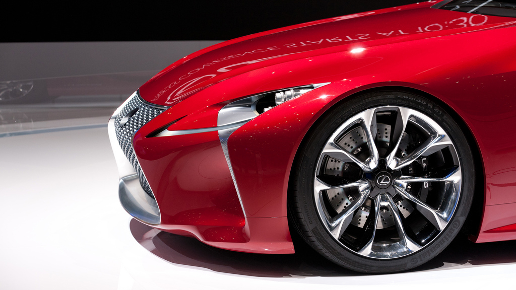 Click here to read The Lexus LF-Lc Is Still A Tease