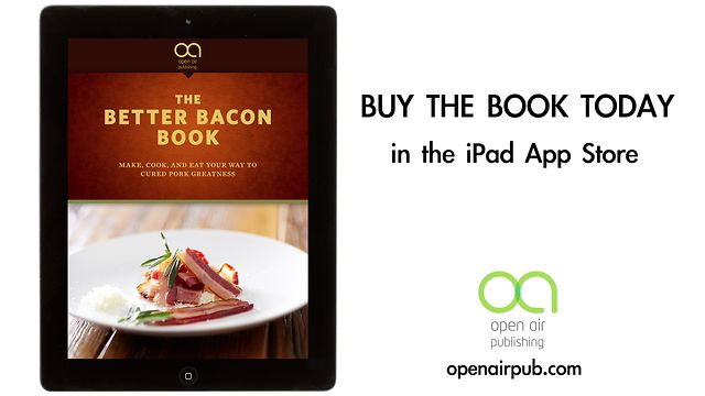 Click here to read The Better Bacon Book for iPad Guides You to Perfect Pork Preparation