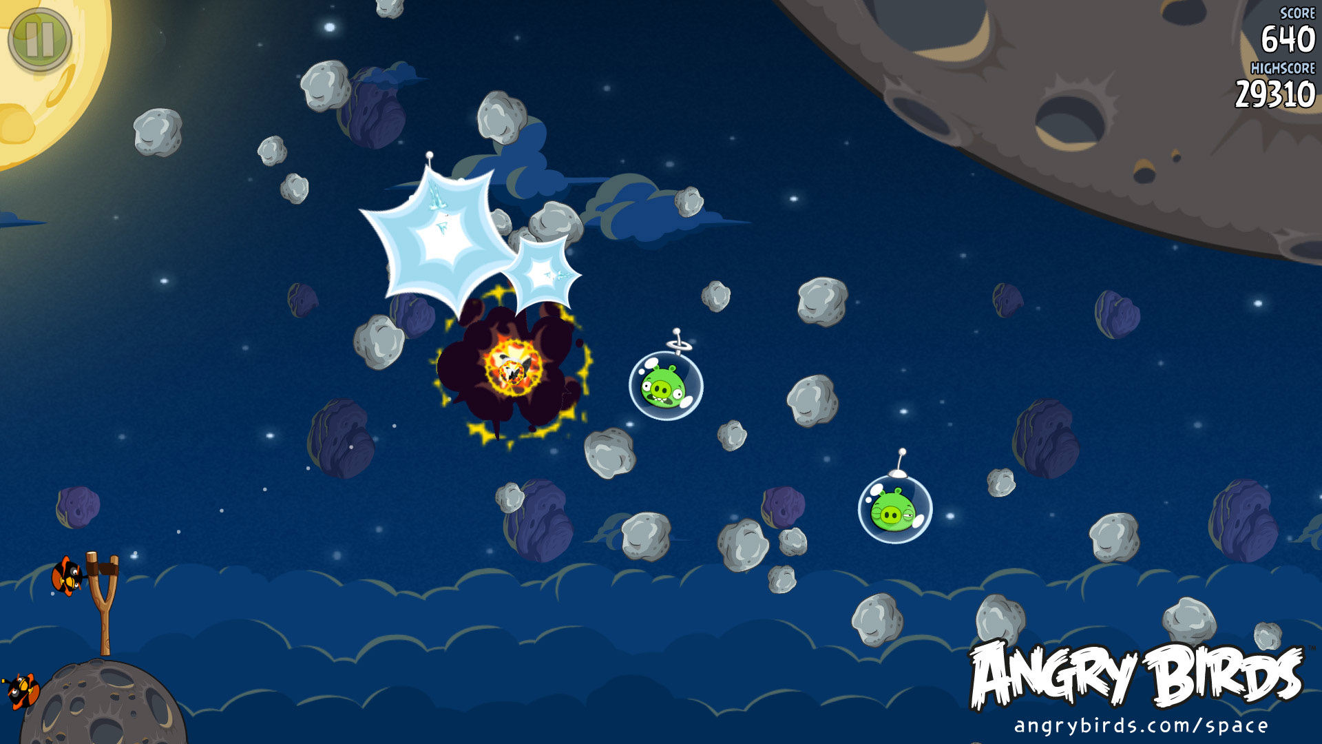 Angry Birds Space Launch Date Announced In Space