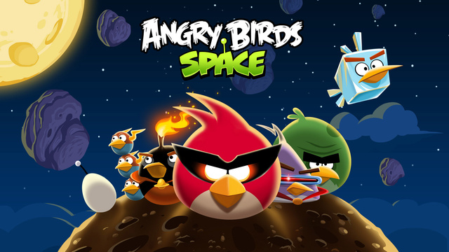 First Angry Birds Space Gameplay Footage Debuts from Orbit
