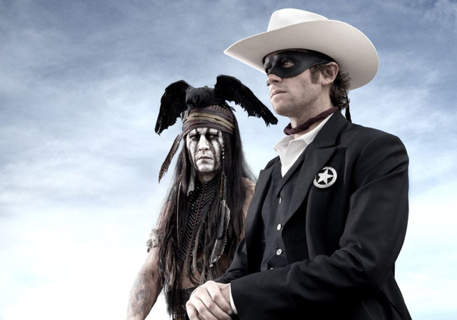 Our first look at Johnny Depp as Tonto in The Lone Ranger