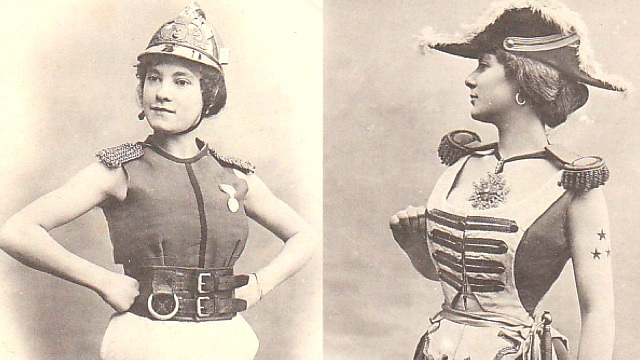 """The Women of The Future,"" according to 1902 French trading cards"