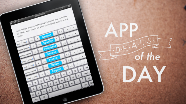 Daily App Deals: iA Writer for iOS for 99¢ in Today's App Deals