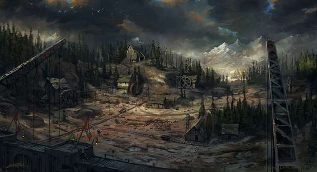 Fable's Concept Art is Like a Giant Storybook