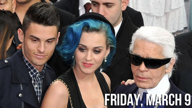 Katy Perry is Sexing Baptiste Giabiconi, Karl Lagerfeld's Hot Piece