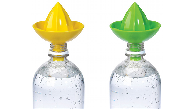The Sombrero Bottle Juicer Will Zestify Your Spring Water