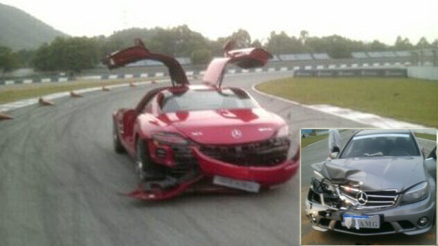 Click here to read Chinese Journalists Crash Mercedes-Benz SLS And C63 AMG