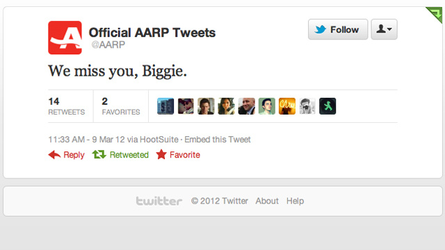 AARP Celebrates the Life of the Notorious B.I.G.
