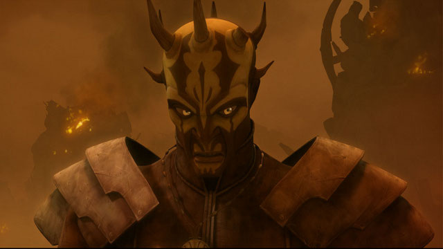 The Monstrous Return of Darth Maul to the Star Wars Universe on Clone Wars!