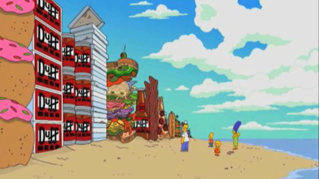 Watch the trailer for the Simpsons' beer-soaked tribute to Inception!