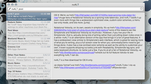 nvALT Brings a Widescreen View, Custom Color Schemes, and Tons More to Our Favorite Syncing Note-Taker