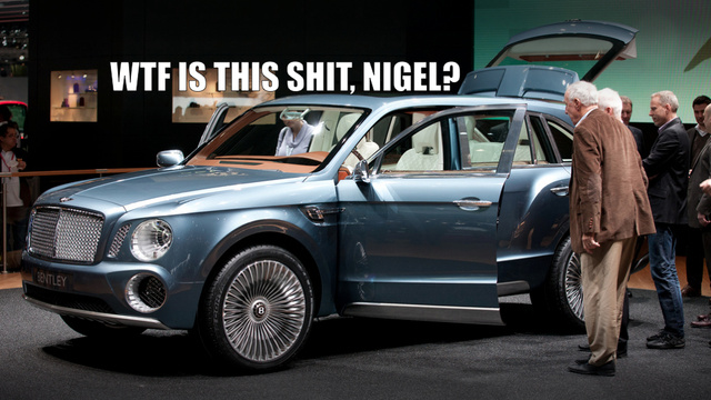 Is The Bentley EXP SUV A Great Idea Or The Greatest Idea?