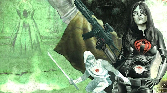 COBRA meets Cthulhu, in this exclusive preview of Infestation 2: G.I. Joe