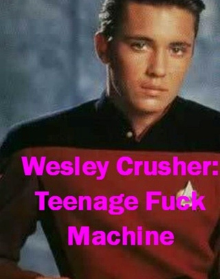Behold Wesley Crusher: Teenage F*** Machine, the Amazon Kindle's new hottest book