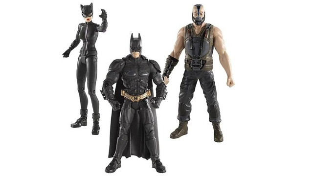 New Dark Knight Rises toys show off Catwoman's ears!