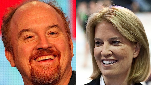 Greta Van Susteren Harrumphs Louis C.K. Out of Congressional Correspondence Dinner