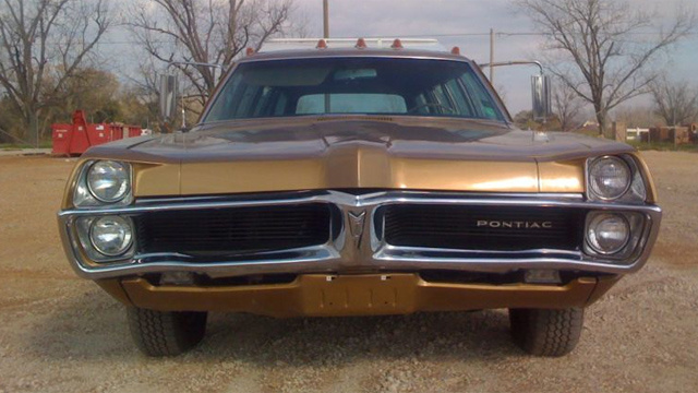 Massive Stretched Pontiac Station Wagon Is A Unique Head-Scratcher